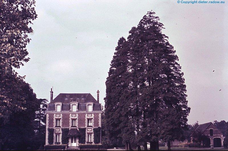 Frankreich-Normandie-Schloss