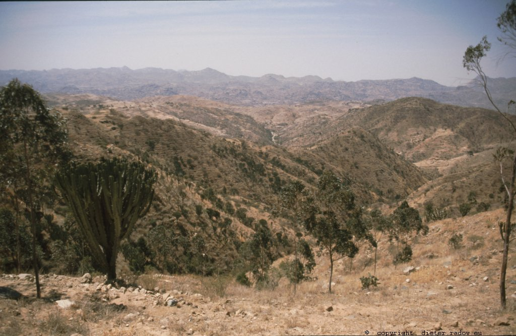 Eritrea 1997 ° ° ° the southern highlands ° ° °<br />° ° südfliches Bergland Eritreas ° °