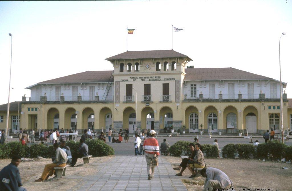 AE 46 Addis Abeba Bahnhof nach Djibouti