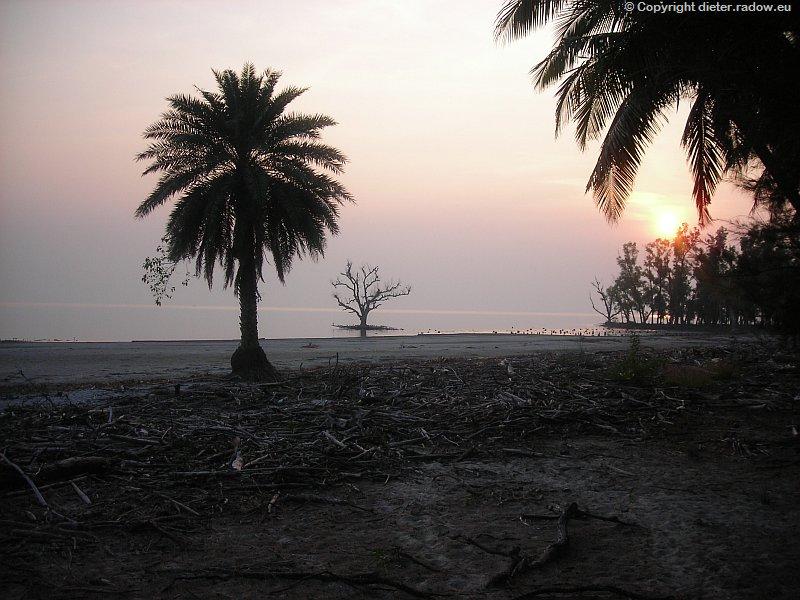 Bangladesch Das Ganges-Delta Sundarban endet am Golf von Bengalen 0