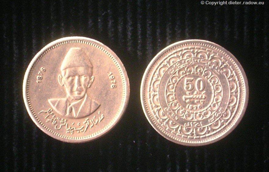 Pak Münze Jinna 508