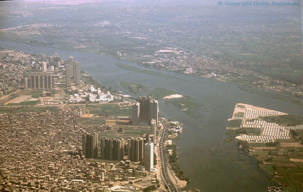 Ägypten Nil in Kairo