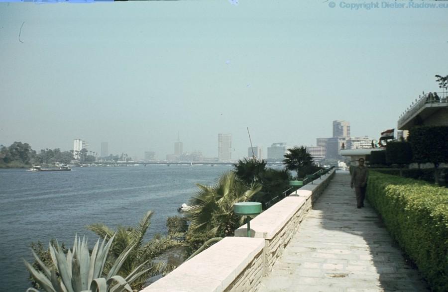 Ägypten Nil in Kairo Innenstadt
