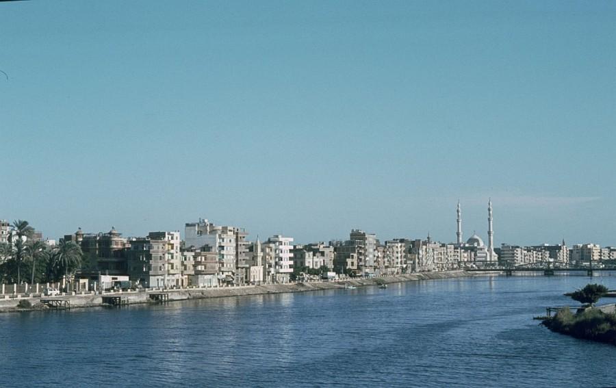 18z Nildelta:  Delta-Stadt  El-Mansura