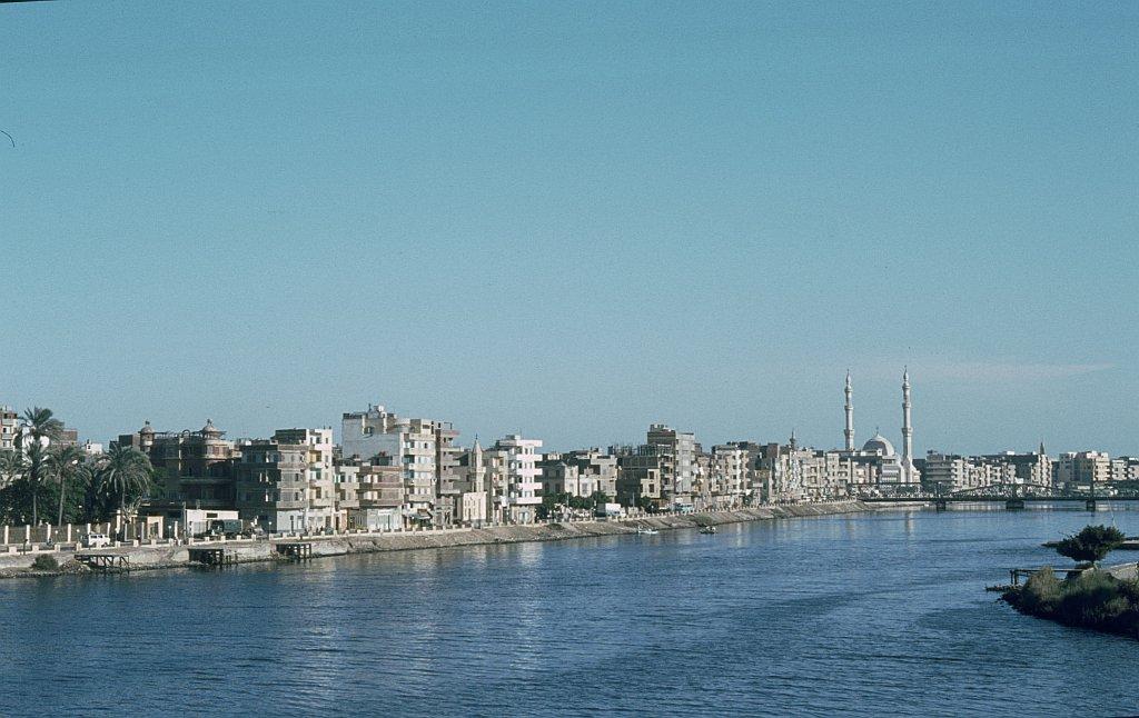 Nildelta:  Delta-Stadt  El-Mansura