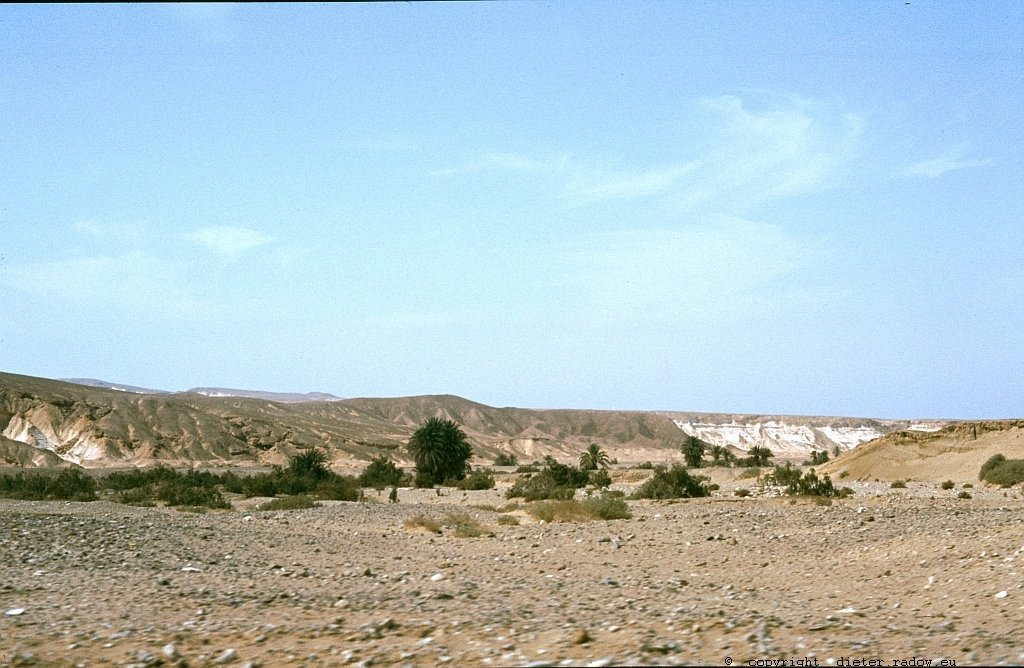 Jemen - Wadi 'Amd in der Provinz North Hadramaut