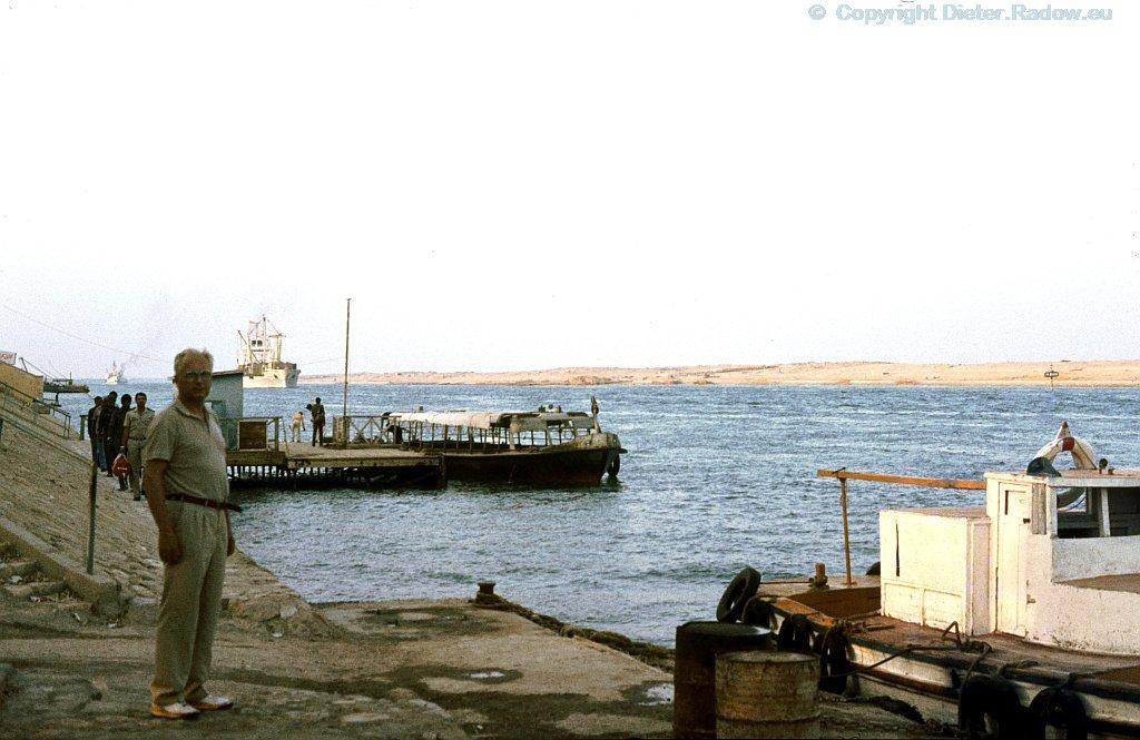 Ägypten Suez-Kanal