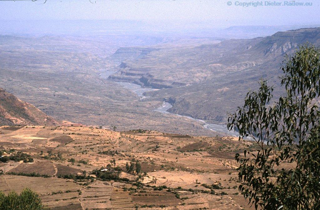 Blue Nile in Ethiopia 1990