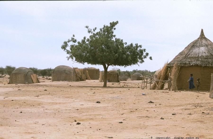 110 Burkina Faso Gorom Gorom - Dorf