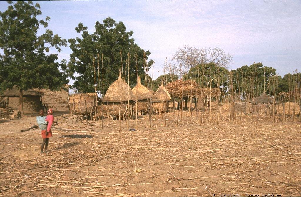 135 Burkina Faso Gorom Gorom Dorf im Sahel89