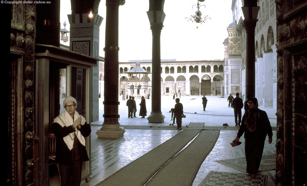 162 Eingang zur Moschee der Omayaden