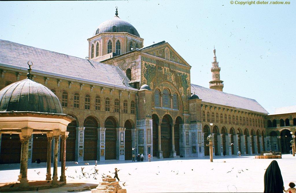 170 Die Moschee der Omayaden