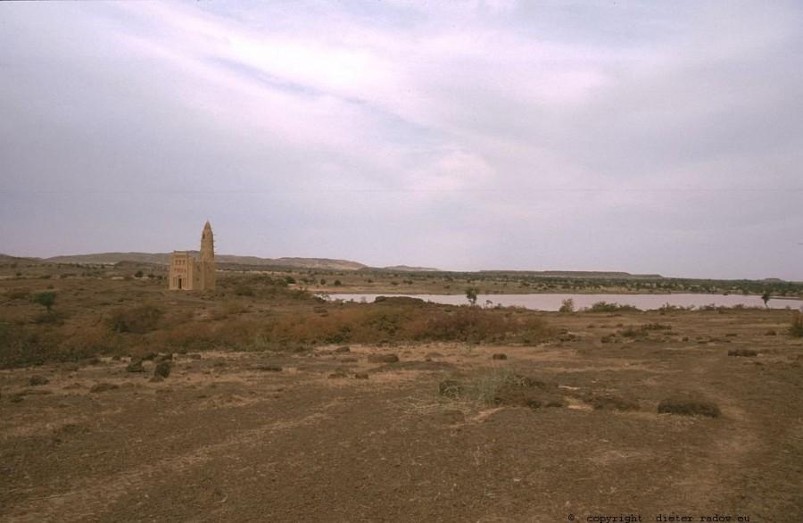 179 Burkina Faso Gorom Gorom-Moschee im Sahel