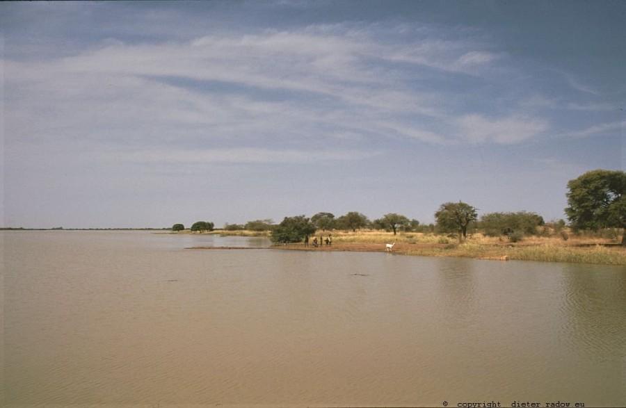 197 Burkina Faso Stausee für Oberflächenwasser31
