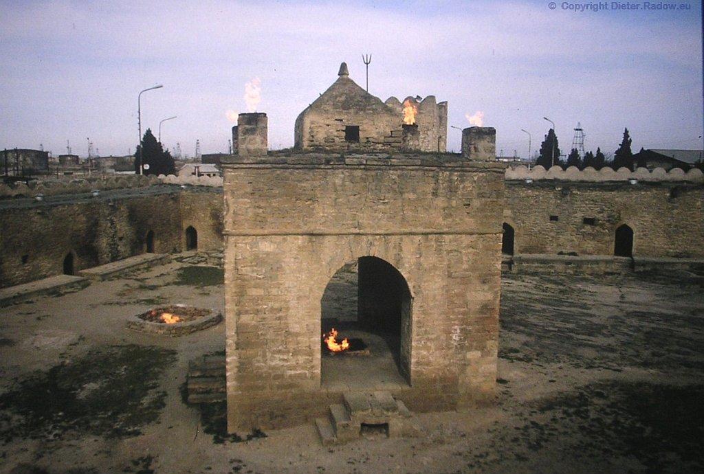 Aserbaijan zoroastrischer Feuertempel