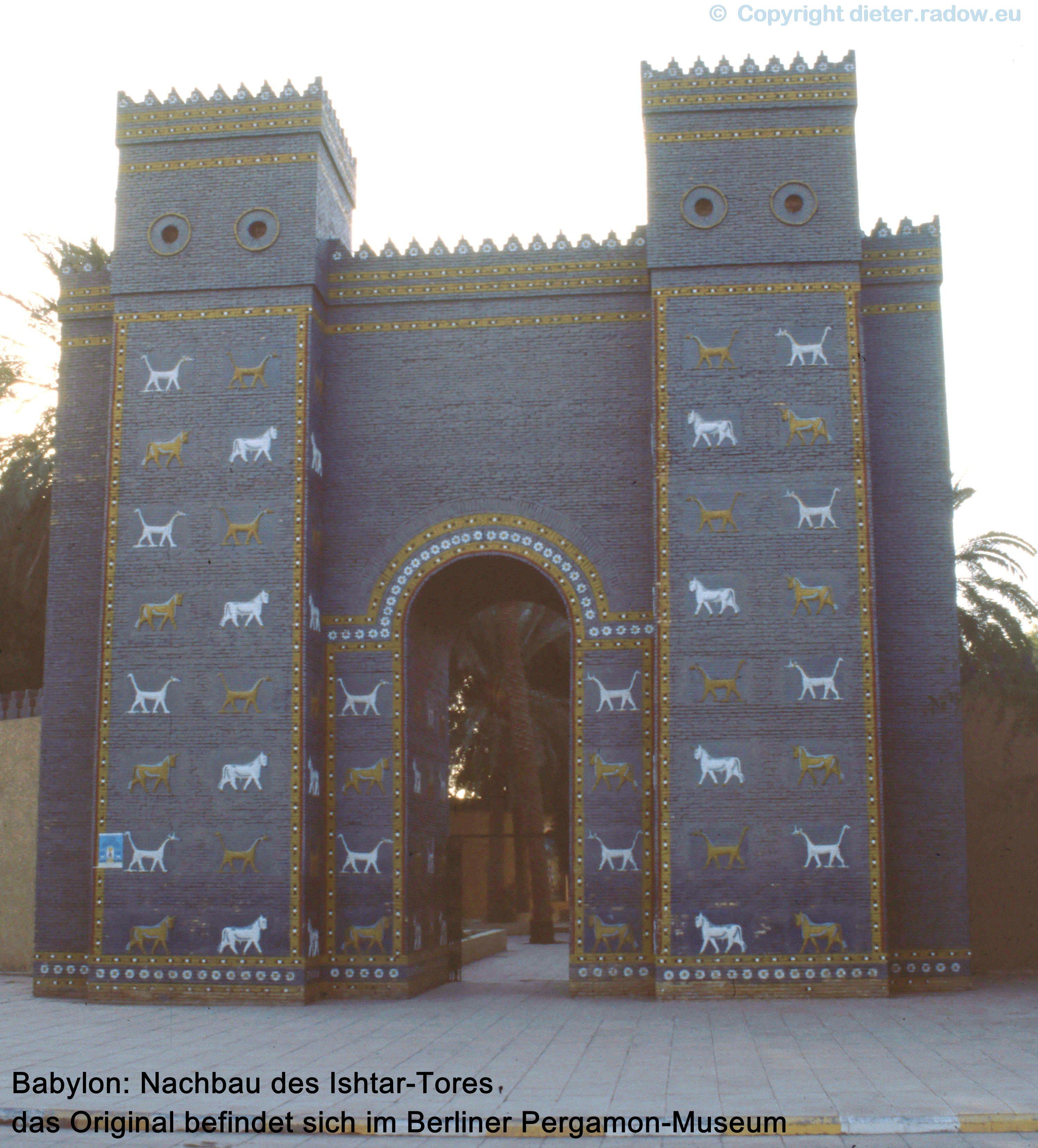 2403 Babylon Ishtar-Tor (Nachbildung)