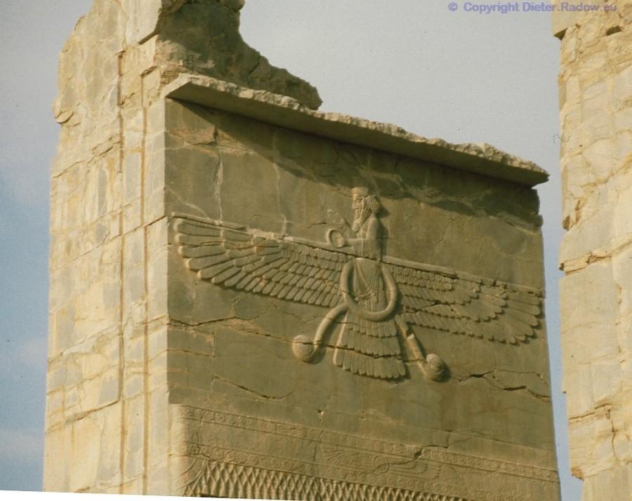 402 Zarathrustra-Gott Ahura Mazda