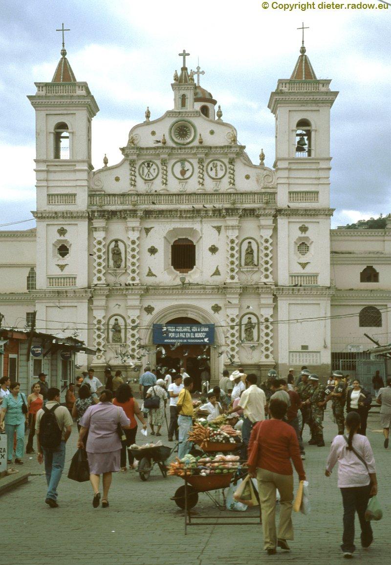 Honduras 2003: Markt in Tegucigalpa