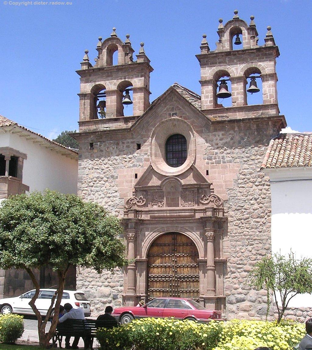 Peru:   Altstadt von Cuzco