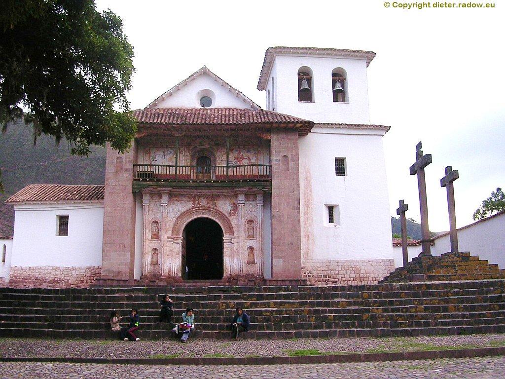Peru - Andahuaylillas, Ort an der Straße 3S zwischen Puno und Cuzco: zwischen Urcos und Oropesa