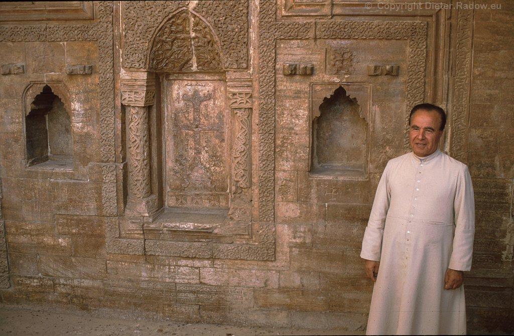 Irak - Der Prior des  Klosters St Behnam