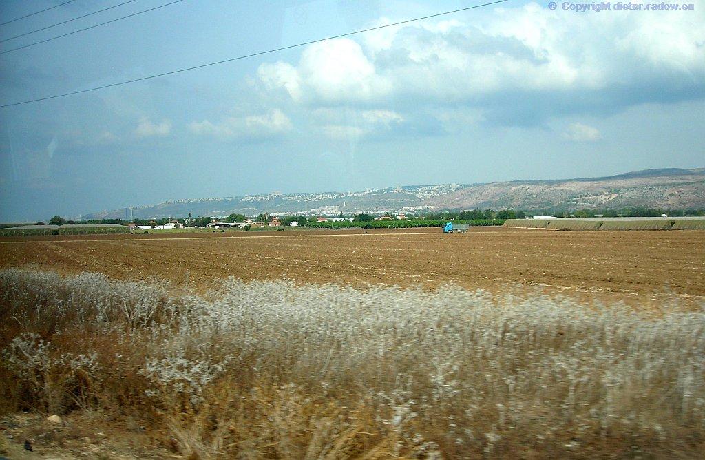 Galilea fruchtbare Ebenen
