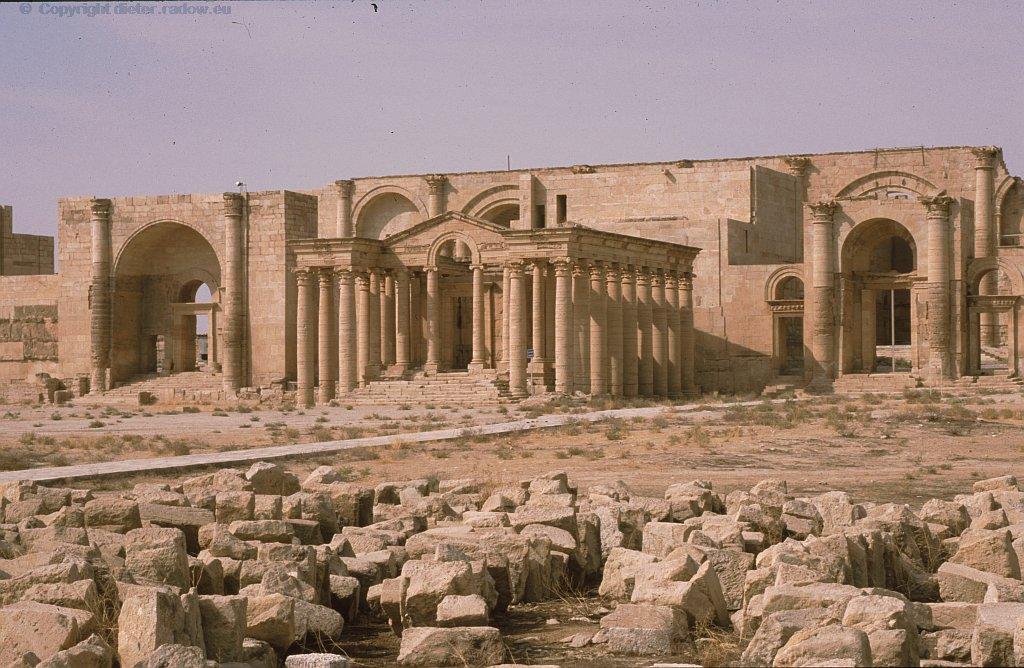 Hatra Der Parther- Palast mit Tempel