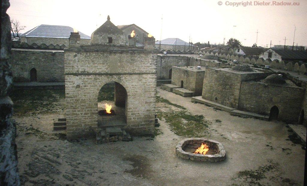 Aserbaidschan - zoroastrischer Feuertempel