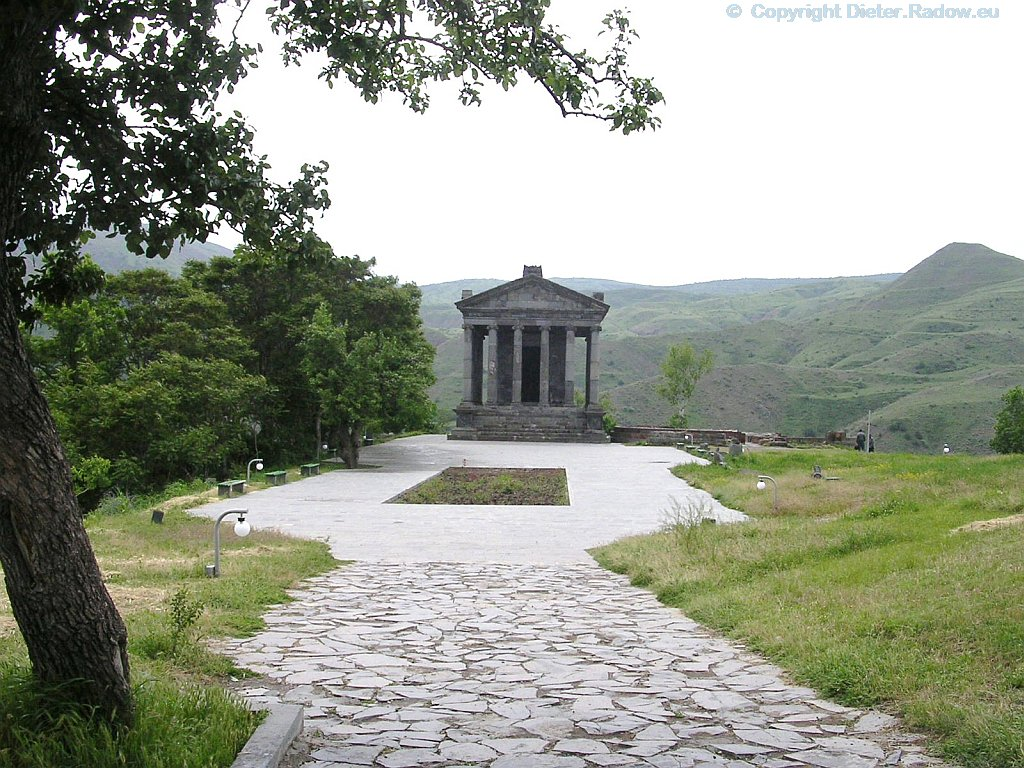 Armenien Garni: Tempel des Parter Königs Tiridates