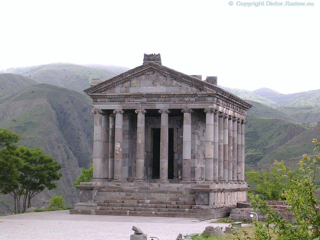 Armenien Garni Tempel des Partherkönigs Tiridates II