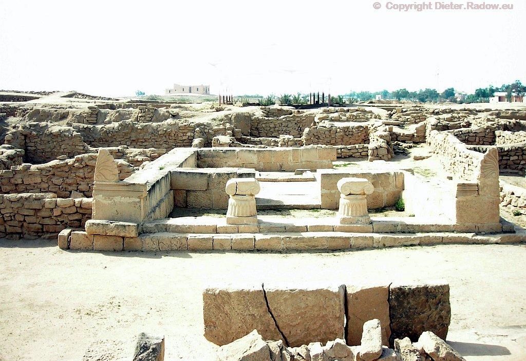 Kuwait Insel Failaka  -  Temple aus der Alexander-Zeit