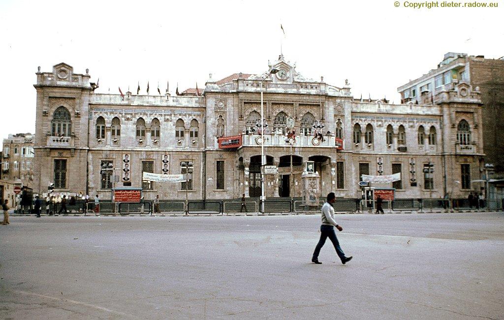 90 Damaskus Hauptbahnhof 1984