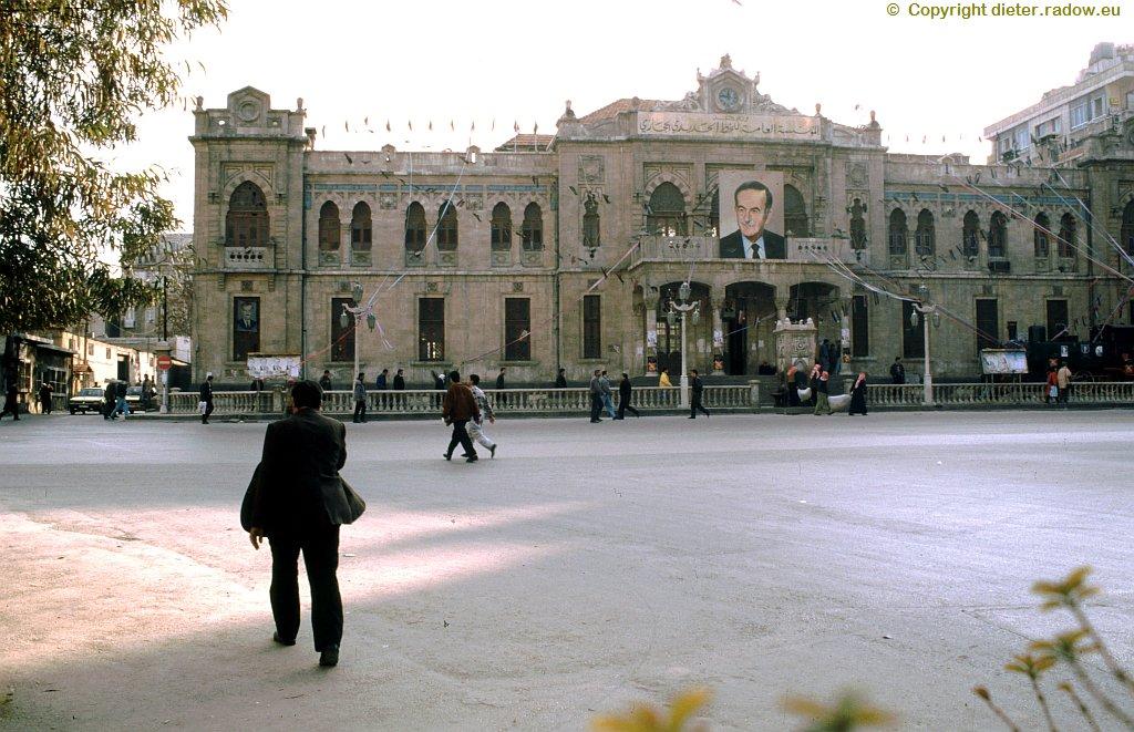 92 Damaskus Hauptbahnhof 1996