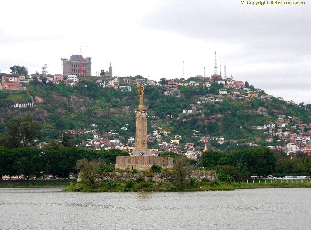 See am Rande des Zentrums der Hauptstadt ANTANANARIVO