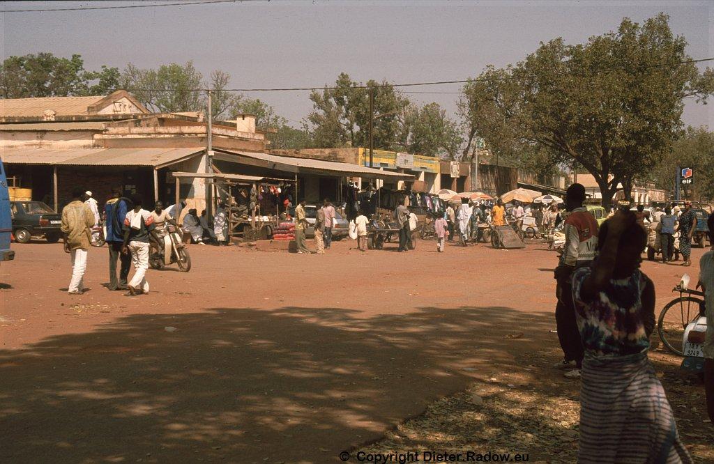 Ouagadougou 1997  -  city center