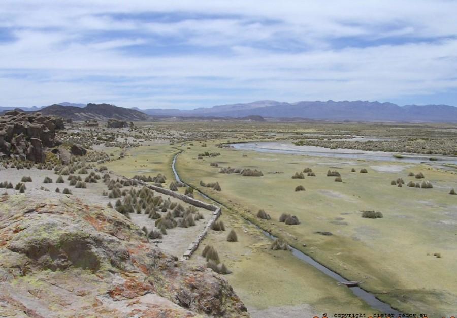 Bolivien Anden Hochplateau