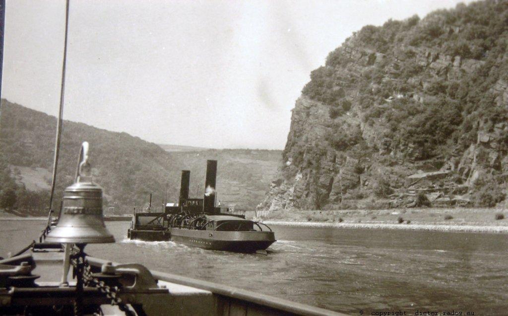 DS He-Rhein die Loreley 1949