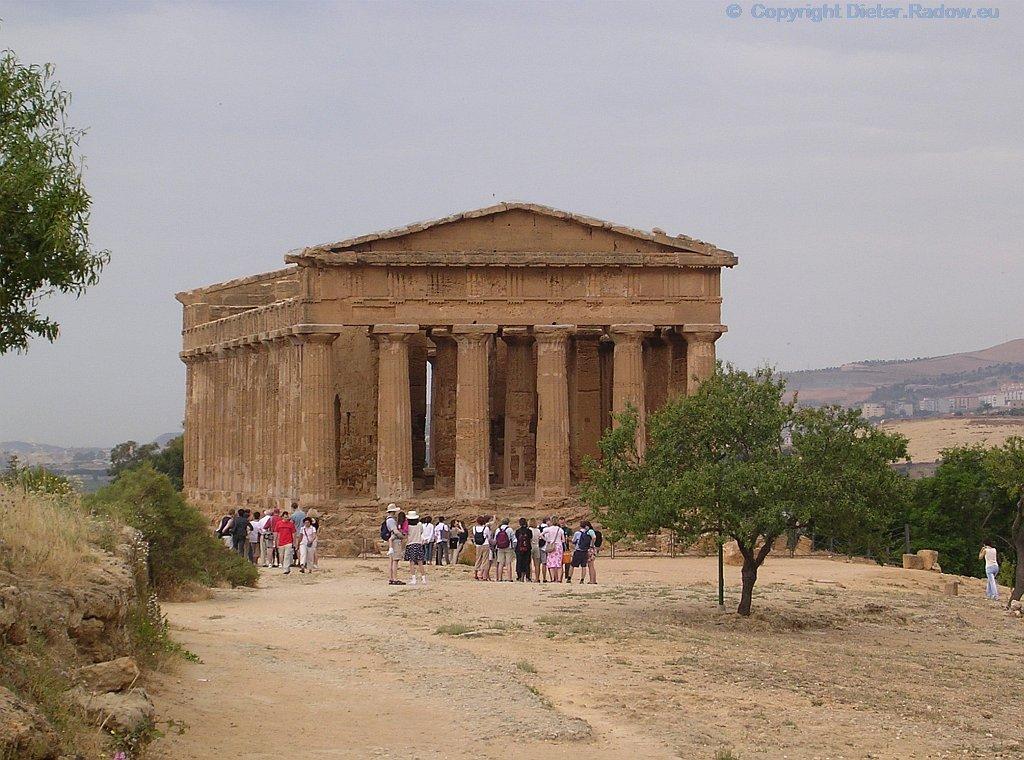 Italien - Sizilien - Agrigent griechischer Concordia-Tempel