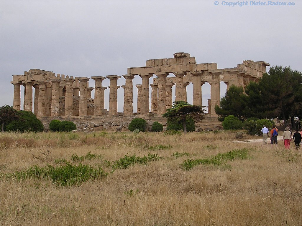 Italien - Sizilien - Selinunte: griechischer Hera-Tempel