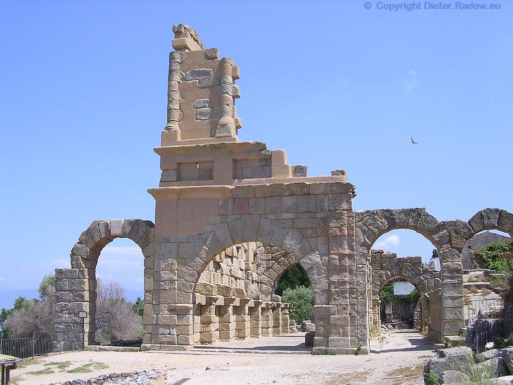 Italy Sicilia Tindari röm. Basilika2007  -