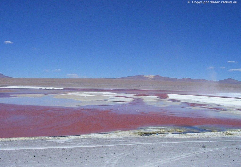 Bolivien - Rote Lagune