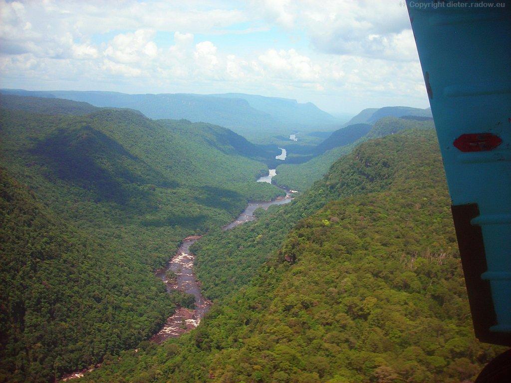 Kaieteur in der Potaro-Gorge