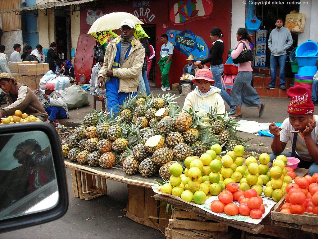 MADAGASKAR. MARKT IN ANTANANARIVO