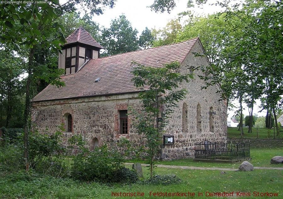 Dahmsdorf Feldsteinkirche1