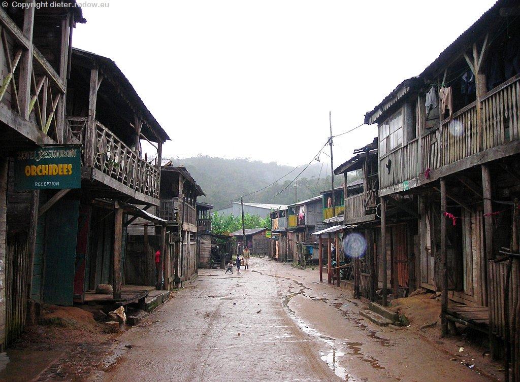 Dorf am Nationalpark