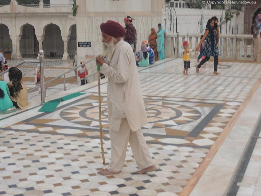Indien alter Sikh