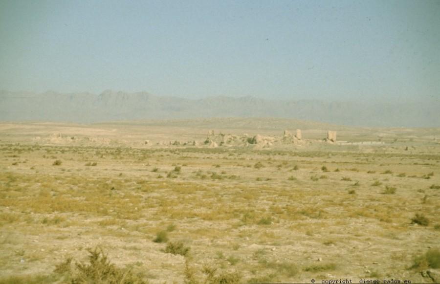 Iran - Khorasan 278 Relikte einer Stadt in der Steppe