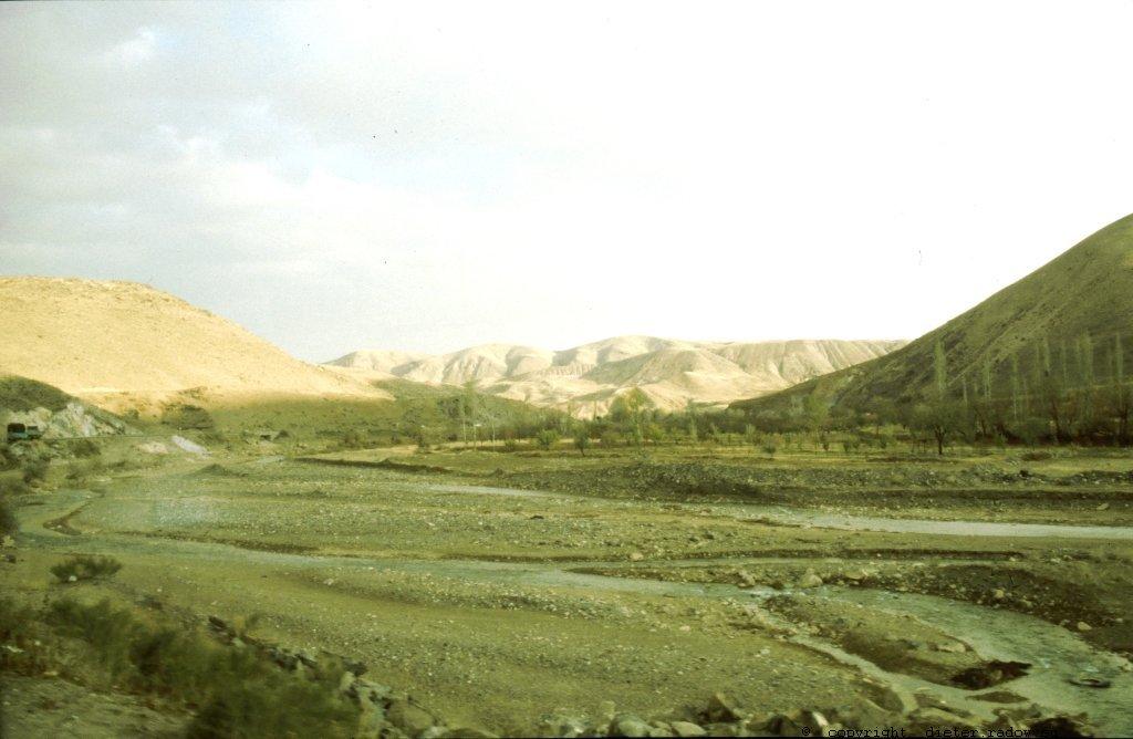 Jemen - Die westliche Seite des Wadi Hadramaut,r