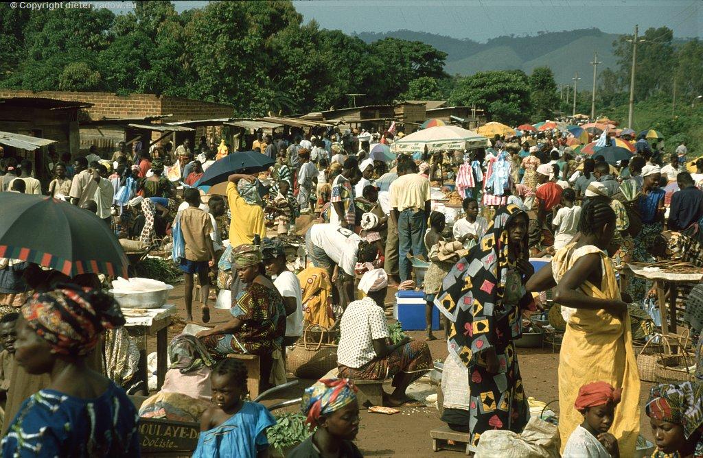 KONGO Brazzaville Markt