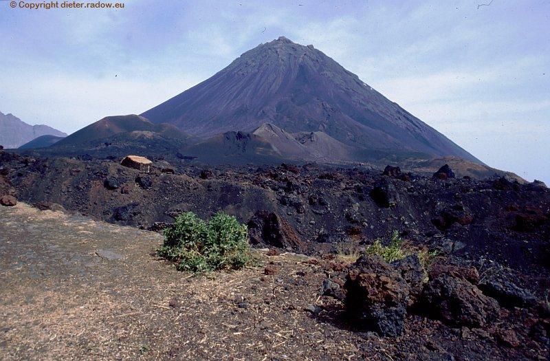 Kap Verd Inseln Vulkan Fogo